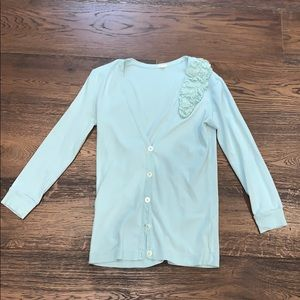 J Crew | Light Blue / Green / Mint Sweater 😍🎁